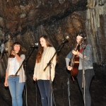 Mitchelstown Cave.The Staves Concert. 2012