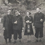 Visitors to Mitchelstown Cave 1952