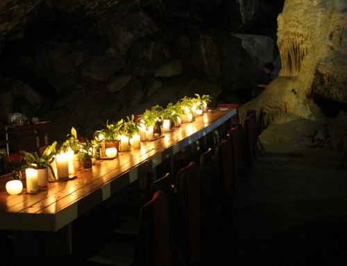 Pop up restaurant in Mitchelstown Cave