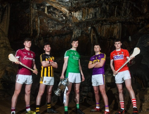 Launch of the GAA U21 Hurling championship at Mitchelstown Cave.
