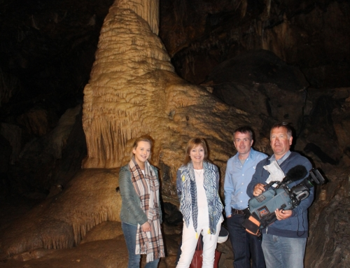 RTE Nationwide at Mitchelstown Cave